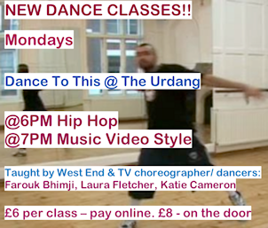 DTT at the Urdang - click to see available classes